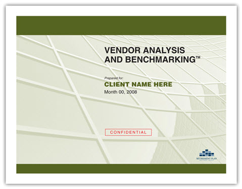 Vendor Analysis And Benchmarking™ | Act2 Retirement Consulting